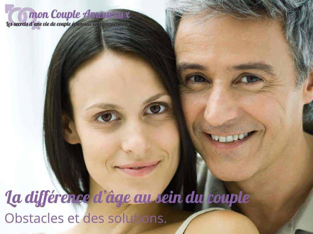 La différence âge dans un couple : obstacles, écueils et solutions.