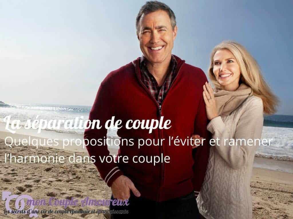 Un couple réconcilié et heureux